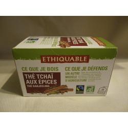 Thé Ethiquable Tchaï aux épices