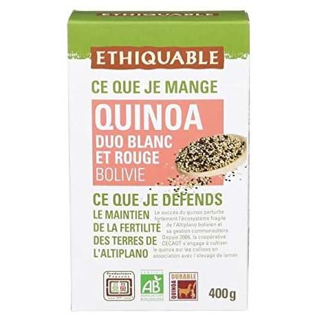 Quinoa Ethiquable Duo B&R / 400g