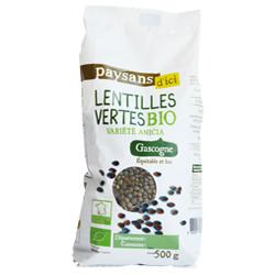 Lentilles vertes de Gascogne /500g