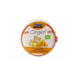 Pastilles Gingembre Orange / 35g