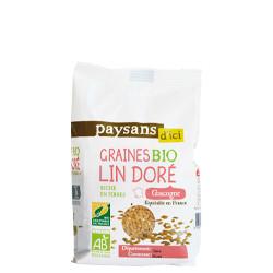 Graines de lin doré bio / 250g