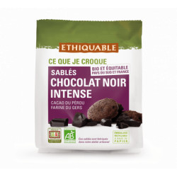 Sablés Chocolat noir intense / 120g