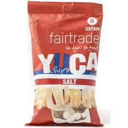 Chips de Yuca (manioc) salées Oxfam / 85g
