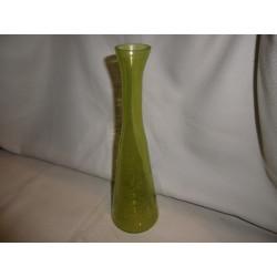 Vase soliflore vert / Inde