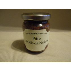 Pâte d'olives noires / 90g