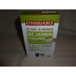 Riz Jasmin Ethiquable de Thaïlande Bio / 500g