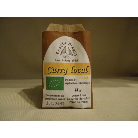 Curry local doux bio / 25g
