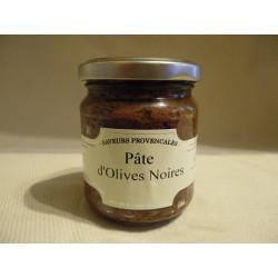 Pâte d'olives noires / 190gr