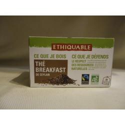 Thé Ethiquable Breakfast / 20 sachets