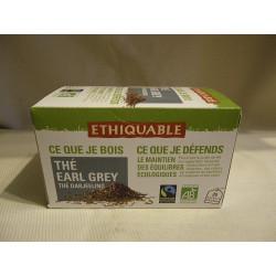 Thé Ethiquable Earl Grey / 20 sachets