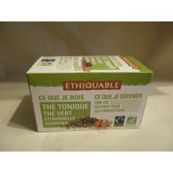 Thé Ethiquable Tonique Guarana / 20 sachets