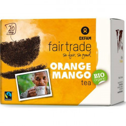 Thé Noir Orange Mangue Oxfam / 20 sachets