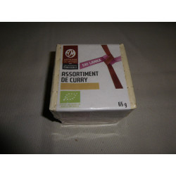 Assortiment de curry / 65 g