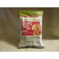 Chips Pomme de Terre Rouge des Andes / 100g