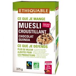 Muesli Chocolat Riz Quinoa / 375g