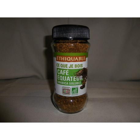 Café Ethiquable soluble bio / 85 g