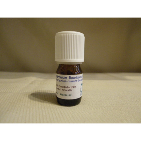 Huile Essentielle de géranium bourbon / 5 ml
