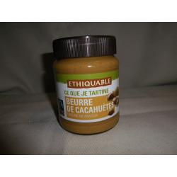 Beurre cacahuètes Nicaragua Ethiquable / 350g