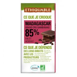 Chocolat Ethiquable 85% Madagascar