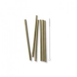 Pailles en bambou / 6u