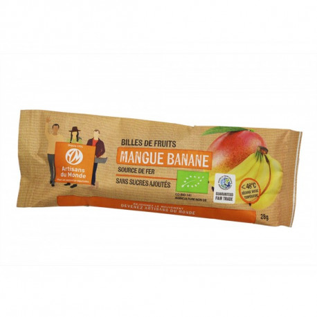 Billes fruit mangue banane / 28g