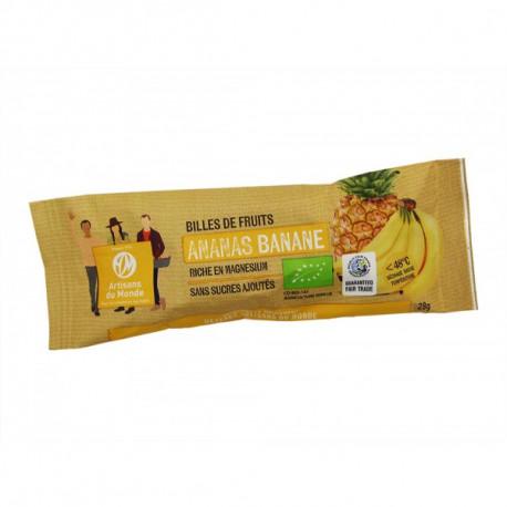 Billes fruit ananas banane / 28g