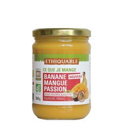 Compote Banane Mangue Passion / 560g