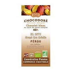 Chocolat Saldac Blanc 40% / 100g