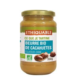 Beurre de cacahuètes BIO / 350g